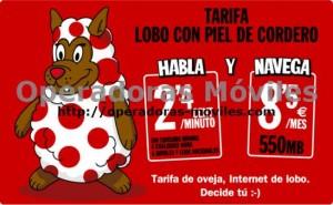 Tarifa Lobo con piel de Cordero