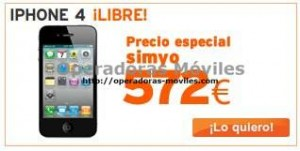 iPhone 4 Simyo