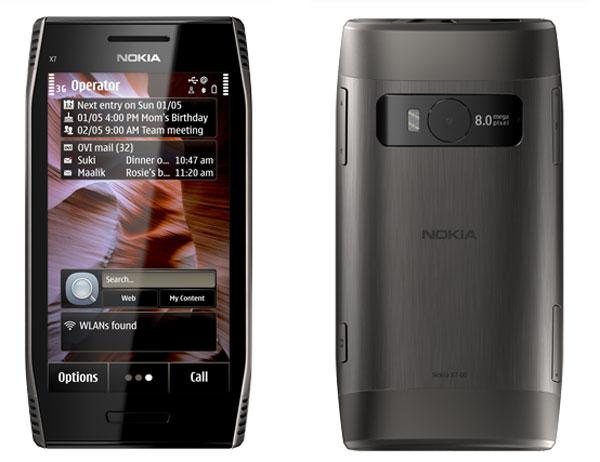 Nokia X7-gris