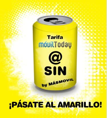 Tarifa @Sin de MásMovil