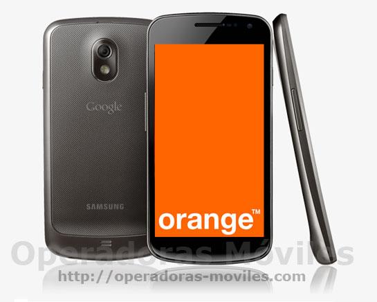 Galaxy Nexus con Orange