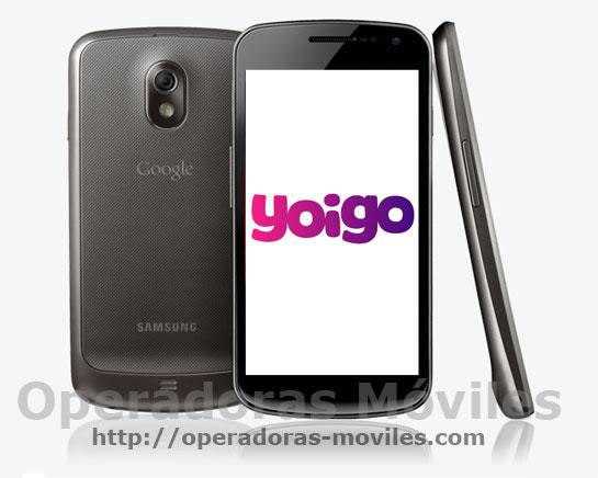 Samsung Galaxy Nexus con Yoigo