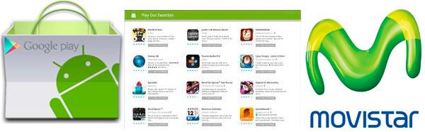 Compra aplicaciones de Google Play directamente desde Movistar