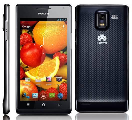 Huawei Ascend P1 en Orange gratis