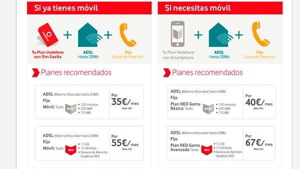 Ofertas de internet en casa combinada con m vil - Vodafone tarifas internet casa ...