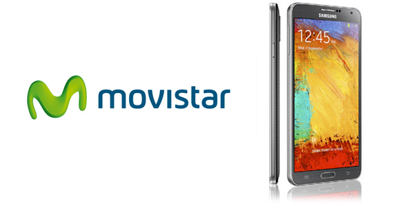 Movistar da precio del Samsung Galaxy Note 3 financiado