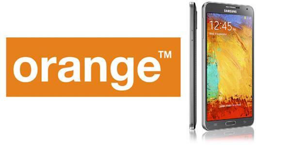 Precios del Samsung Galaxy Note 3 con Orange