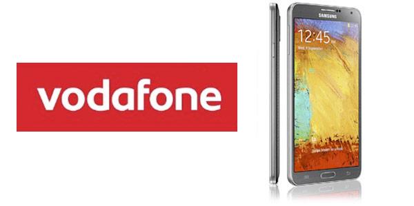 Precios en contrato del Samsung Galaxy Note 3 con Vodafone