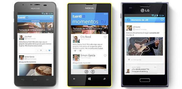 Tuenti Móvil vende el Nokia Lumia 520, LG L5 y Huawei G510 en prepago