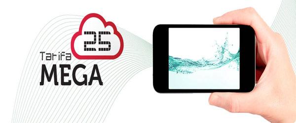 Tarifa Mega 25 de Ocean's 5Gb por 25€/mes