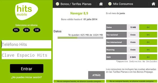 HitsMobile lanza su nueva aplicación android para gestionar tu cuenta