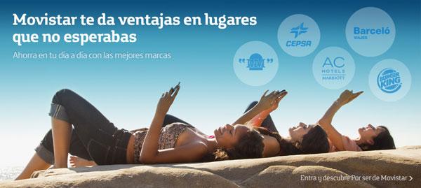 """Ofertas especiales para clientes """"por ser de Movistar"""" en porser.movistar.es"""
