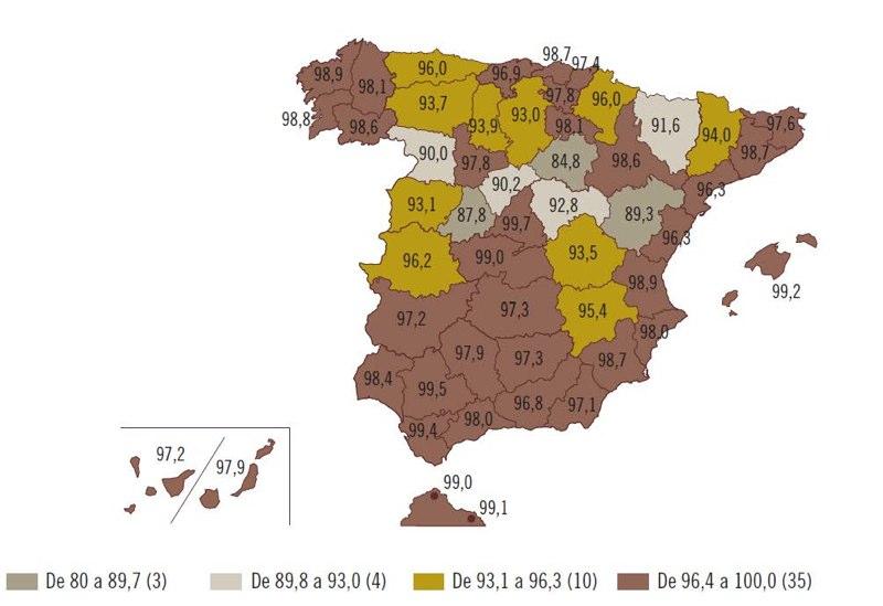 Cobertura 3G espana 800