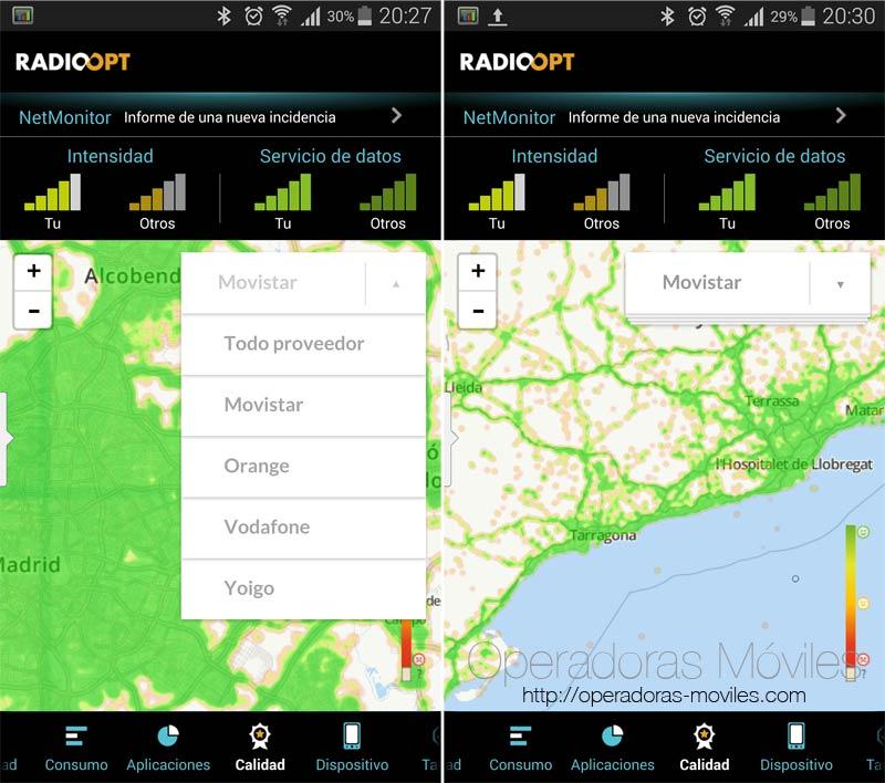 Comprueba la cobertura de tu futuro operador antes de hacer la portabilidad con Traffic Monitor