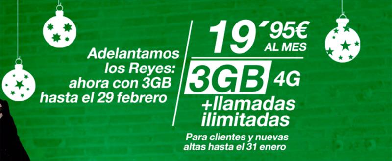 Amena regala GB en navidad y baja el precio del Huawei P8 Lite y LG G4c