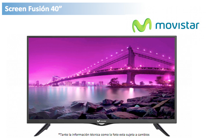 Movistar Screen Fusion