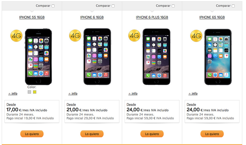 iPhone Jazztel