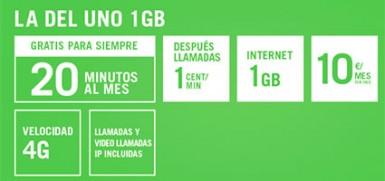 La del Uno 1 GB